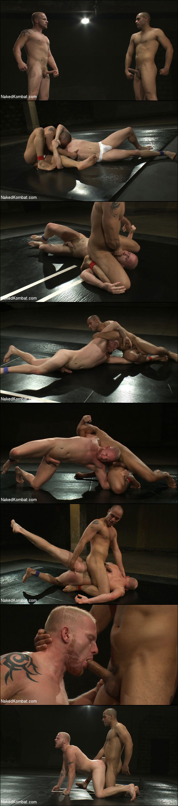 Naked Kombat - Leo Forte vs Luke Riley