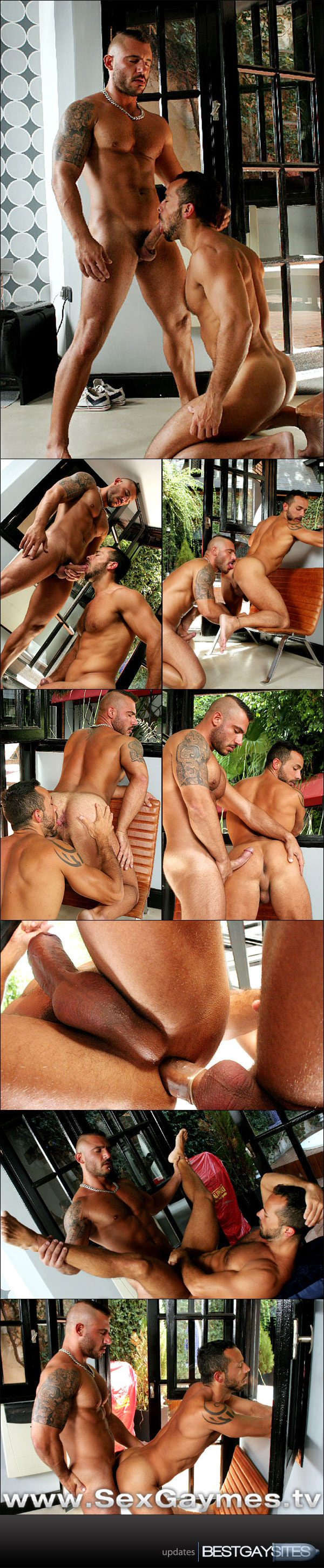 Sex Gaymes - Pedro Andreas & Nico Aragon