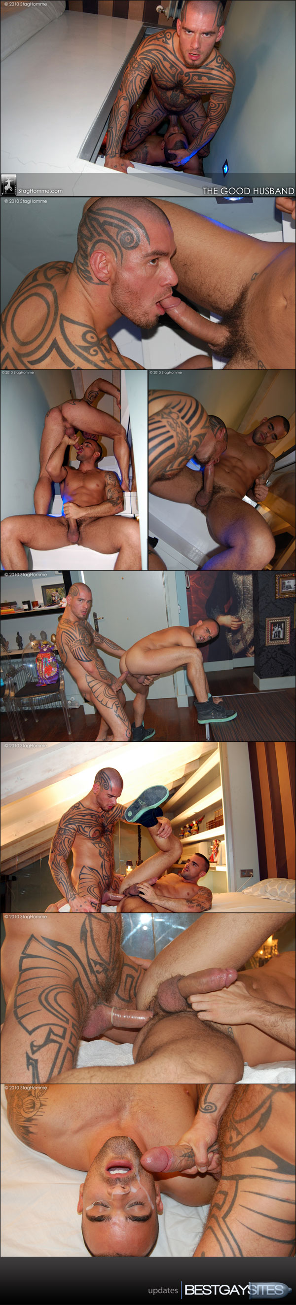 Stag Homme - The Good Husband, with Damien & Logan McCree