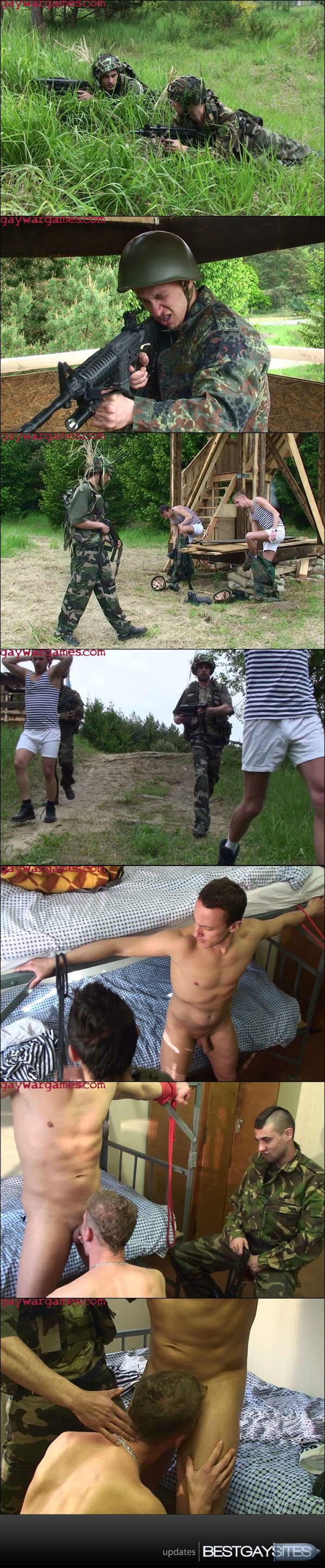 Gay War Games - Kalinka, Scene 1